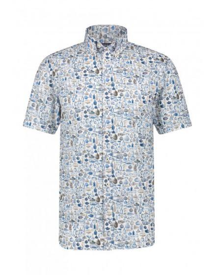 Shirt SS Digital Pri 26411912-1157