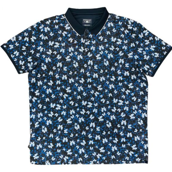 Polo STATE OF ART katoen blauw 46411559-5957