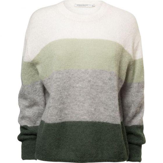 Sweater alpaca knit streep 7s5505-7763-120