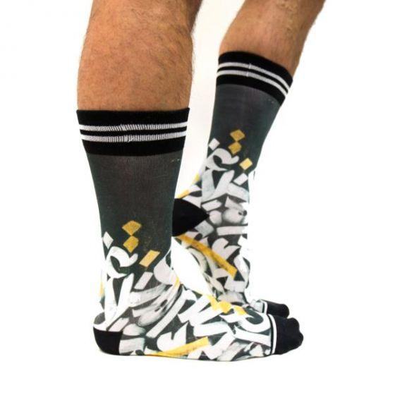 Sokken sock my graffiti fw19m005