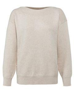 Boatneck sweater long sleeve 1000506-122-99959