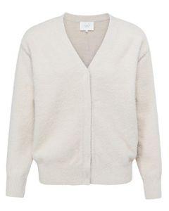 Fluffy yarn cardigan FRENCH OAK 1010129-122-30400
