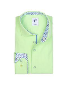 Shirt R2 longsleeve neon groen