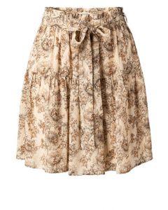 Printed mini skirt SHEER PINK 1401140-115-211061