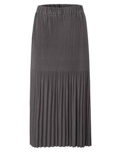 Jersey midi skirt with pleats 1409103-121-83908