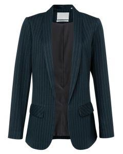 Pinstripe blazer DARK BLUE 1501088-122-940121