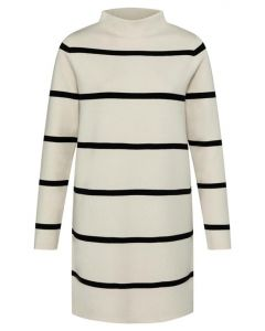 Knitted dress with stripes 1800371-122-304001
