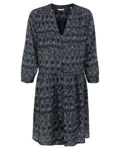 Printed midi button up dress 1801386-122-940121