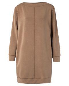Modal blend dress with stitch 1809243-022-81018