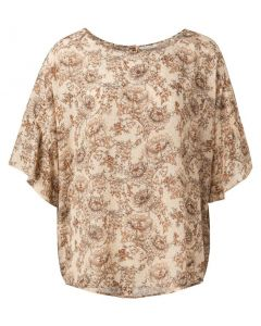 Printed top with ruffles 1901441-115-211061