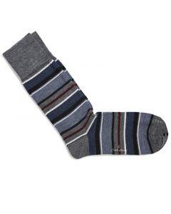 Sokken navy stripes 200-13