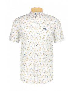 Overhemd STATE OF ART SS printed pop