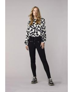 Trousers punto milano 4s2202-11498-990