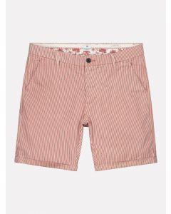 Chino Shorts Fine Marine Stripe Lt. Old Pink
