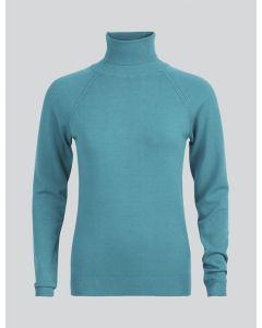 Turtle neck sweater basic knit 7s5529-7830-642
