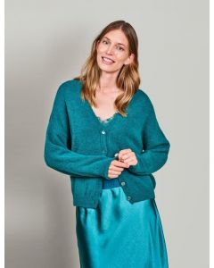 Cardigan wool elastane knit 7s5612-7839-642