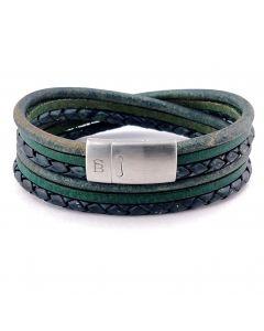Armband STEEL & BARNETT bonacci dark green