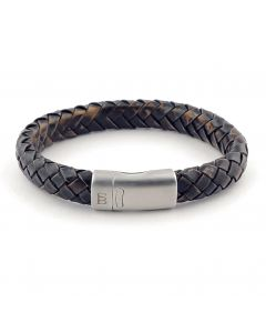 Armband STEEL & BARNETT cornall vint. black