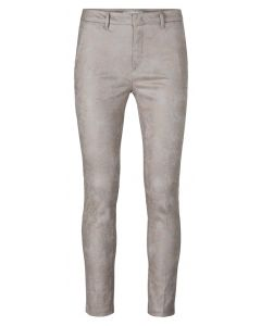 Printed stretch trousers 1201192-124-310121