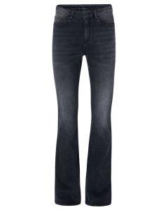 High waist flair denim 32 inch 1201194-123-01113
