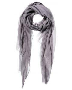 Modal tie dye scarf GULL GREY 1301116-123-63803