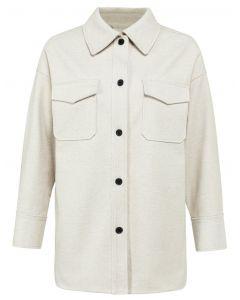 Shirt jacket FRENCH OAK MELANGE 1519035-122-304002