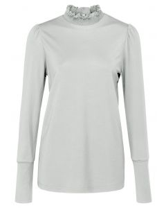 Jersey top with smocked collar 1909491-124-99691