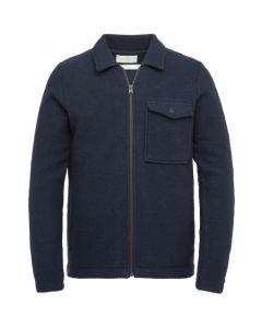 Zip jacket boiled wool Sky Captain CKC215350-5073