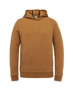 Hooded relaxed fit cotton interloc CSW215402-8197