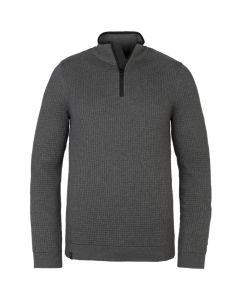 Half zip collar cotton  structure VKW215308-960