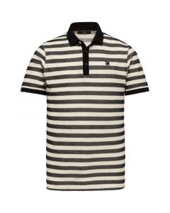 Short sleeve polo plated stripe VPSS213885-999