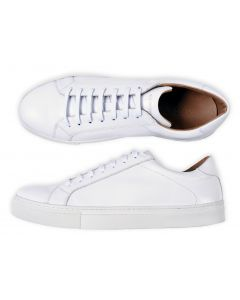 Sneaker Roy Robson wit voor onder pak