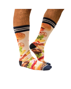 Sokken sock my hamburger smfm111