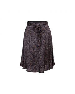 Skirt art deco print 6s1211-11524-120