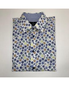 Shirt wolf km button under mmz21107wo17-500