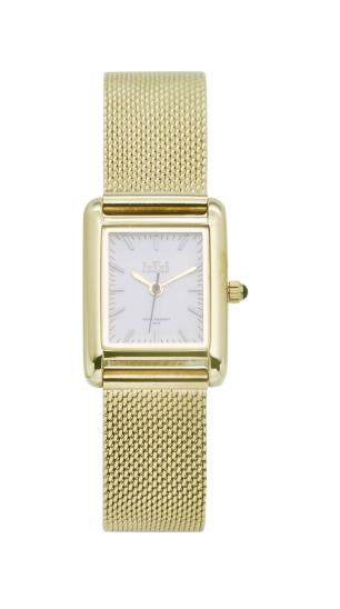 Horloge gold/white trc02