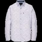 Long Sleeve Shirt Print White VSI201201-7003