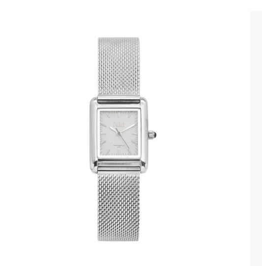 Horloge silver/white gc01